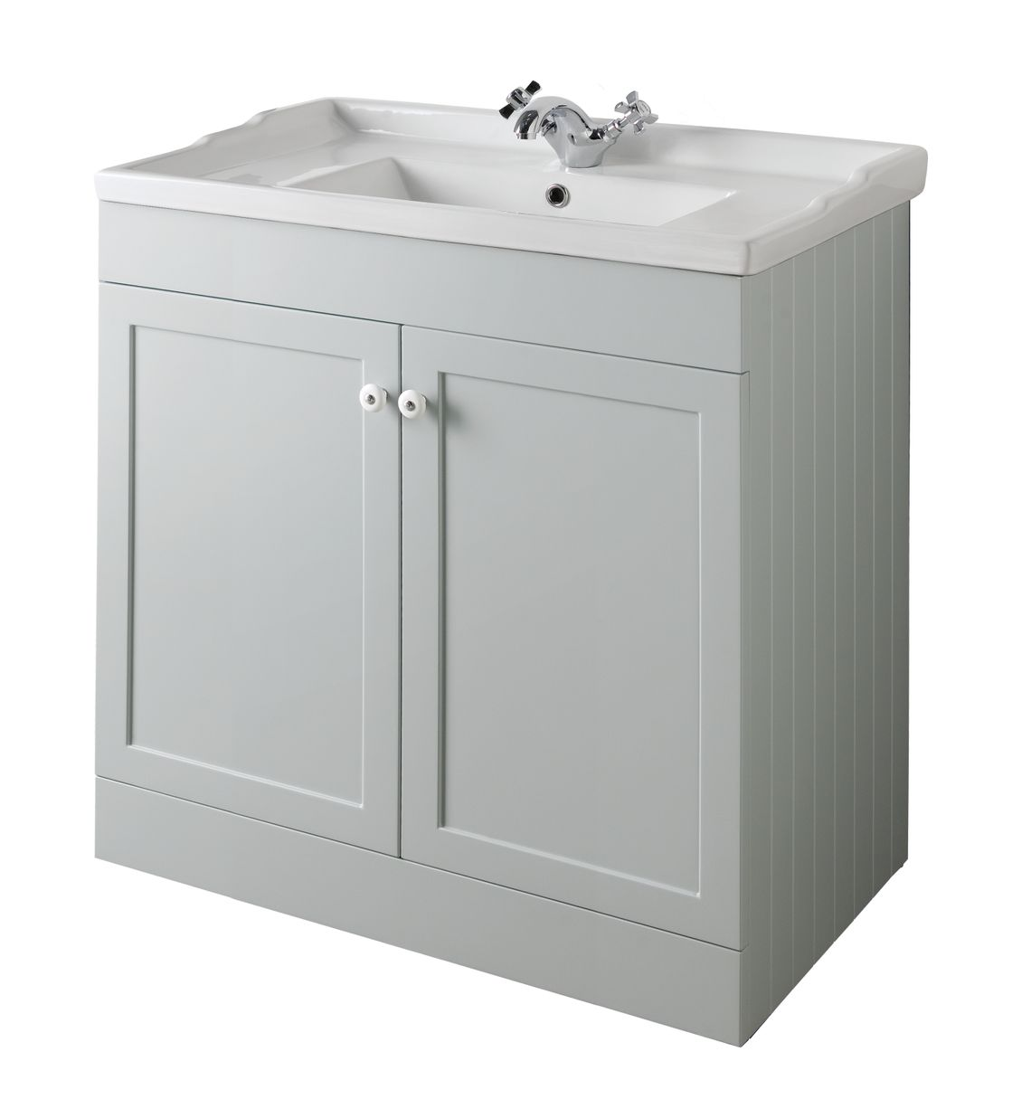Bathroom Furniture, 800mm Unit - Matt Dove Grey, STRABANE WHOLESALE LTD, Strabane, Co. Tyrone