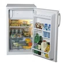 LEC 50cm Under Counter Fridge With Ice Box White