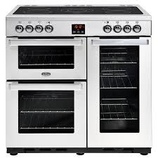 Belling Cookcentre 90E Professional 90cm Electric Range Cooker in Stainless Steel