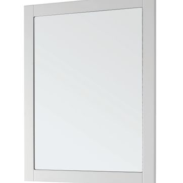 Duke Framed Mirror, Matt White, STRABANE WHOLESALE LTD, Strabane, Co. Tyrone