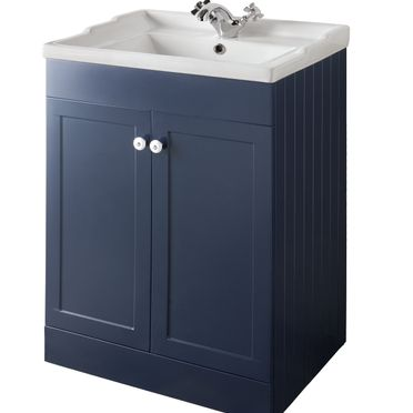 Bathroom Furniture, 600mm Unit - Matt Sapphire Blue, STRABANE WHOLESALE LTD, Strabane, Co. Tyrone