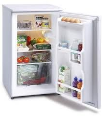 MONTPELLIER WHITE 48CM UNDER COUNTER LARDER FRIDGE