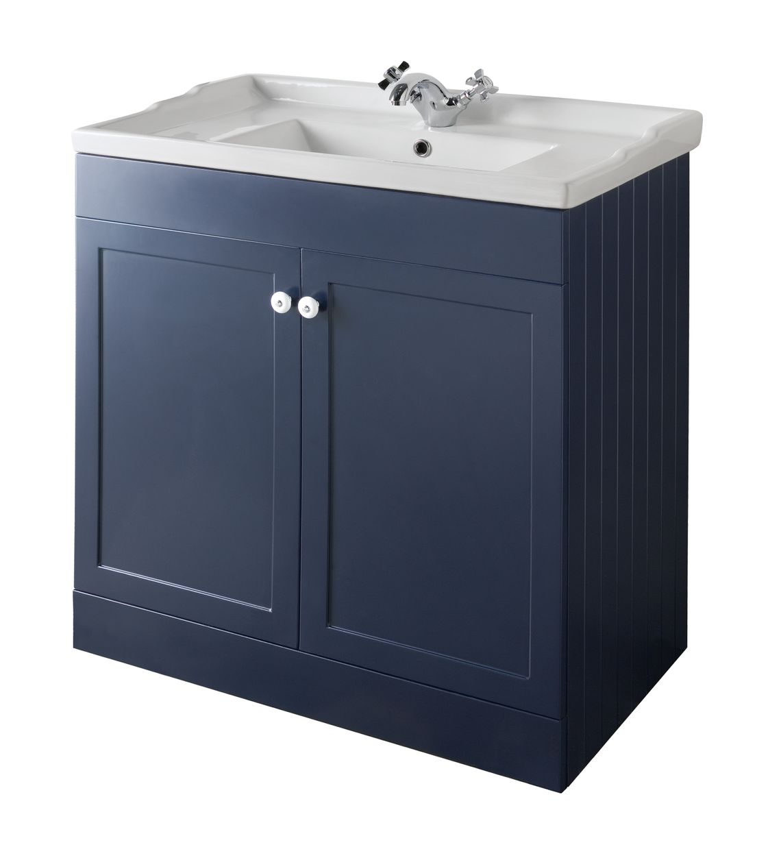 Bathroom Furniture, 800mm Unit - Matt Sapphire Blue, STRABANE WHOLESALE LTD, Strabane, Co. Tyrone