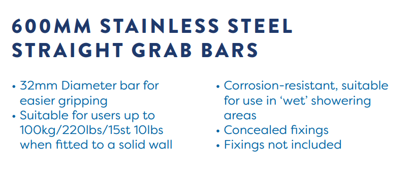 Disability, Less-Abled, Grab Bars & Rails, Strabane Wholesale Ltd, Strabane, Co. Tyrone