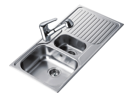 Teka 1 ½ Bowl kitchen sinks, strabane wholesale ltd, strabane, co. tyrone