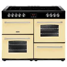 Belling Farmhouse 110cm Electric Range Cooker in Cream