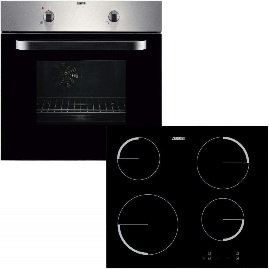 Zanussi ZPVF4130X Electric Fan Oven And Ceramic Hob Pack Stainless Steel. STRABANE WHOLESALE LTD, Strabane, Co. Tyrone. 02871382374