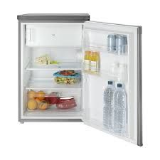 Indesit Fridge with Freezer Compartment, A+ Energy Rating, 55cm Wide, Silver