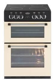 Belling Classic 60E Double Electric Cooker - Cream