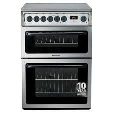 HOTPOINT 60cm Electric Ceramic Cooker - Black