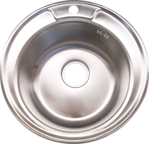 Stainless Steel Round Sink, Strabane Wholesale Ltd, Strabane, Co. Tyrone