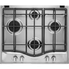 Hotpoint Four Burner Gas Hob Stainless SteelFour Burner Gas Hob Stainless Steel