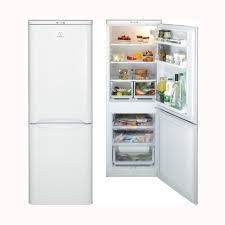 INDESIT NCAA55 Fridge Freezer - White