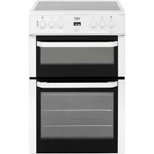 Beko BDVC664W Electric Cooker with Ceramic Hob - White