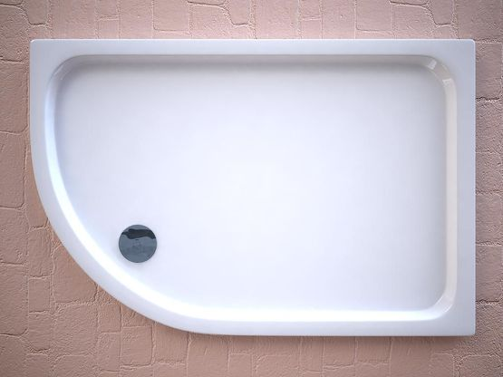 Offset Slimline Shower Trays, Strabane Wholesale Ltd, Strabane, Co. Tyrone