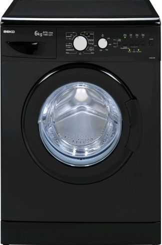 Beko Black Washing Machine, Strabane Wholesale Ltd, Strabane, Co. Tyrone