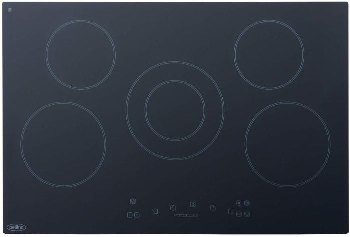 Belling CH77TC 77cm Wide 5 Zone Touch Control Ceramic Hob , STRABANE WHOLESALE LTD, STRABANE, CO. TYRONE
