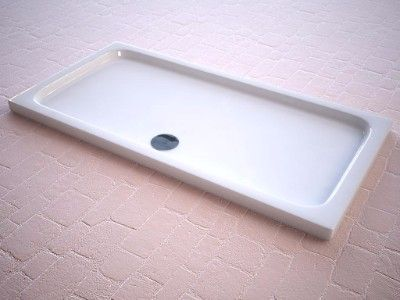 Rectangular Slimline Shower Trays, Strabane Wholesale Ltd, Strabane, Co. Tyrone