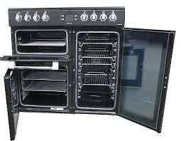 Leisure Cookmaster Black 90cm Electric Range Cooker