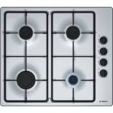 Bosch Gas Hob, Stainless Steel