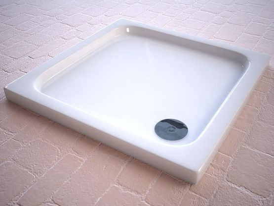 Square Slimline Shower Trays, Strabane Wholesale Ltd, Strabane, Co. Tyrone