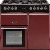 Leisure Cookmaster CK90F232R 90cm Dual Fuel Range Cooker in Red (£100.00 CASH BACK PROMO WITH THIS ITEM)