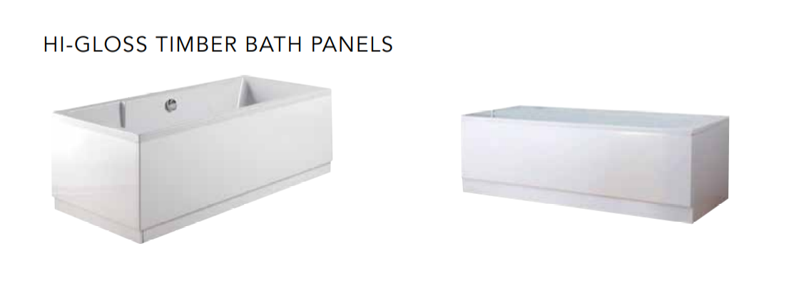 BATH PANELS, ACRYLIC & WOODEN, STRABANE WHOLESALE LTD, STRABANE, CO. TYRONE