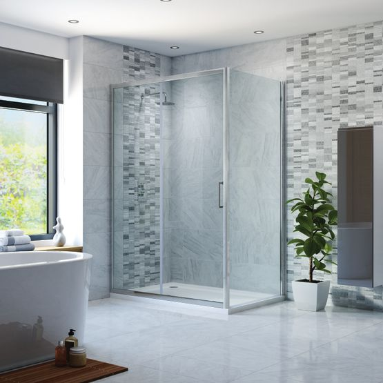 Sliding Door Shower Enclosures, Strabane Wholesale Ltd, Strabane, Co. Tyrone